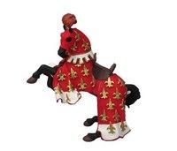 Конь принца филиппа, красный, Papo