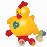 Курица-несушка (пластик), K's Kids