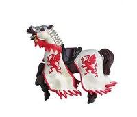 Конь короля драконов, красный, Papo