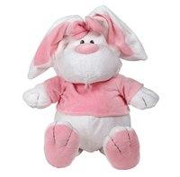 Кролик белый сидячий, 56 см, Gulliver (Гулливер)