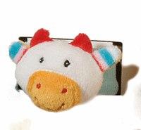 """Мягкая игрушка на запястье """"коровка"""", Gulliver (Гулливер)"""