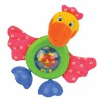 "Развивающая игрушка ""прогулка пеликана"" (звук, безопасное зеркало), K's Kids"