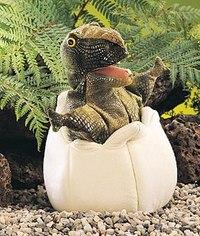 Динозавр в яйце (25 см), Folkmanis