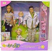 Кукла люси с другом, сыном и дочкой, Shenzhen Jingyitian Trade Co., Ltd.