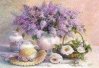 """Пазл """"цветы. живопись"""" (1000 элементов), Castorland"""