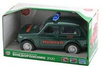 """Инерционная машина """"hunter 2121"""", Play Smart (Joy Toy)"""