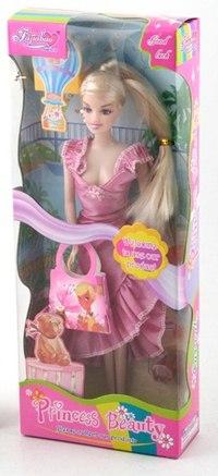 "Кукла ""princess beauty"" с сумочкой, Shenzhen Jingyitian Trade Co., Ltd."