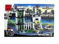 """Конструктор """"полицейский участок"""", 589 деталей, ENLIGHTEN (Brick)"""