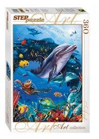 """Пазл """"подводный мир"""", 360 элементов, Step Puzzle (Степ Пазл)"""