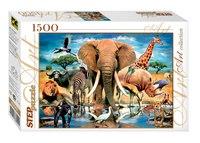"""Пазл """"в мире животных"""", 1500 элементов, Step Puzzle (Степ Пазл)"""