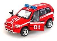 """Инерционная пластмассовая машина """"пожарная"""". автопарк, Play Smart (Joy Toy)"""