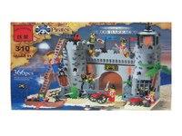 """Конструктор """"пиратская крепость"""", 366 деталей, ENLIGHTEN (Brick)"""