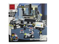 """Конструктор """"полицейская разведочная машина"""", 325 деталей, ENLIGHTEN (Brick)"""