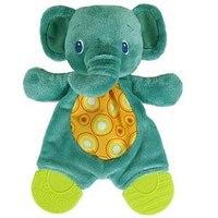 """Развивающая игрушка """"самый мягкий друг """"слоненок"""""""" с прорезывателями, Bright Starts"""