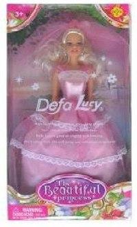 """Кукла """"defa. принцесса"""" (розовое платье), Китай"""