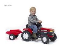Трактор педальный с прицепом, FALK