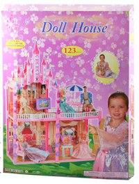 Кукольный дом с мебелью, Shenzhen Jingyitian Trade Co., Ltd.