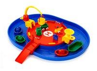 """Мультинабор """"гараж с гаванью"""" (15 предметов, одноуровневый), Viking Toys"""