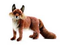 Рыжая лисица (40 см), Hansa (Ханса)