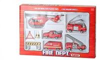 """Набор металлических машин """"пожарная команда"""", Shenzhen Jingyitian Trade Co., Ltd."""