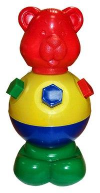 Игрушка-логика «мишка косолапый», Строим вместе счастливое детство
