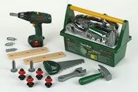 Bosch. набор инструментов с дрелью в ящике, Klein