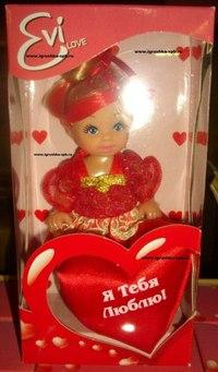 """Кукла """"еви с сердечком"""", Steffi Love"""