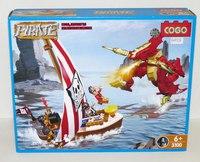 """Конструктор """"пираты"""" (164 детали), COGO"""
