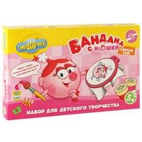 """Набор для детского творчества """"бандана с нюшей"""", Смешарики"""