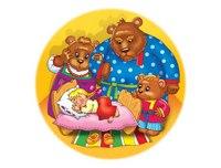 """Пазл мягкий """"три медведя"""", 30 элементов, Десятое королевство"""