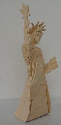 """Конструктор деревянный """"статуя свободы"""", VGA (Wooden Toys)"""