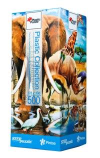 """Пластиковый пазл """"мир животных"""", 500 элементов, Step Puzzle (Степ Пазл)"""