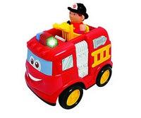 """Развивающая игрушка """"пожарная машина"""" (на радиоуправлении), Kiddieland"""