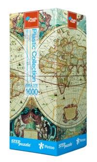 """Пластиковый пазл """"историческая карта"""", 1000 элементов, Step Puzzle (Степ Пазл)"""