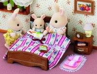 """Игровой набор """"большая кровать и тумбочка"""", Sylvanian Families"""