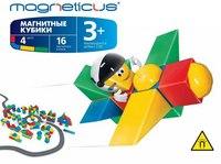 Магнитные кубики (16 элементов), Magneticus