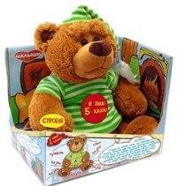 """Мягкая игрушка """"медведь-сказочник"""", Малыши"""