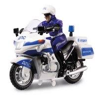 "Мотоцикл ""дпс"" с полицейским, Технопарк"