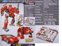 "Робот - трансформер 3 в 1 ""ford"", Happy Well"