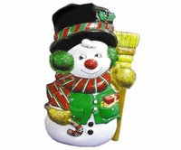 "Новогоднее панно ""снеговик"", Snowmen"