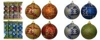 """Набор новогодних шаров """"меридиан"""", Snowmen"""