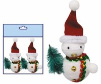 """Новогодняя подвеска """"снеговик в колпаке"""", Snowmen"""