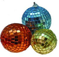 """Набор новогодних шаров """"зеркальные квадраты"""", Snowmen"""
