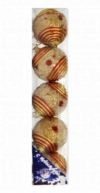 Новогодний набор шаров, Snowmen