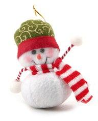 Снеговик с ручками из снежков, Snowmen