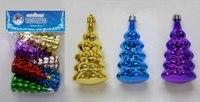 """Новогодний набор подвесок """"елка"""", Snowmen"""