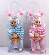 Кукла с мишкой (38 см), Shenzhen Jingyitian Trade Co., Ltd.