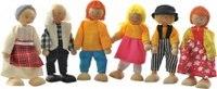Набор деревянных кукол, Мир деревянных игрушек (МДИ)