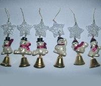 """Новогодняя подвеска """"звезда"""", Snowmen"""
