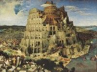 """Пазл """"вавилонская башня"""", 1500 элементов, Clementoni"""